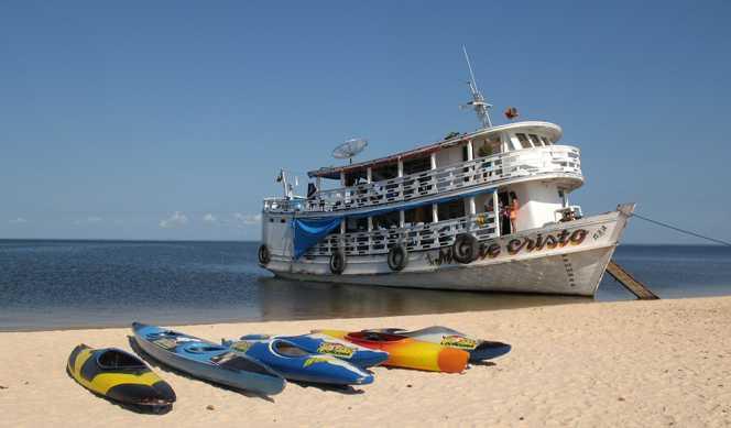 Guyane française, Brésil avec Ponant