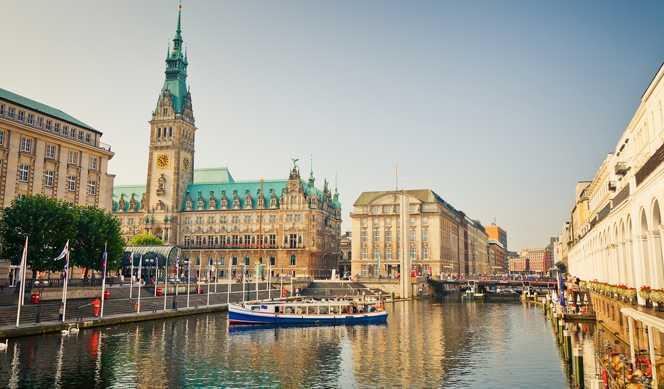 Allemagne, Royaume-Uni avec Cunard