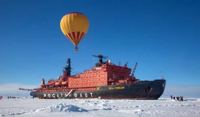 Pôle Nord avec Quark Expeditions