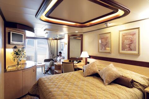 Superficie: 30 à 192m², toutes les suites disposent d'un balcon, d'un coin salon, d'une salle de bain avec baignoire et d'une grande penderie.