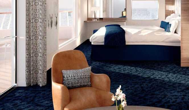 Elles regroupent les suites Q, M, MG et MX qui sont composées  d'une ou deux pièces et d'un coin salon avec TV. Certaines disposent  d'un balcon privé ou d'un bow window.