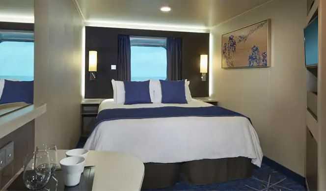 Ces élégantes cabines sont équipées d'installations de luxe qui sont mises en valeur par de jolis détails et des vues dégagées sur l'océan.