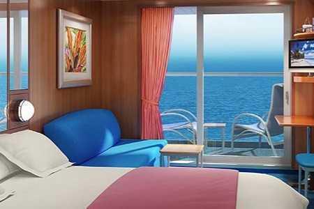 Superficie: 19 m², 2 lits bas convertibles, coin salon, balcon privé, salle de bains avec douche, téléphone, TV, climatisation, sèche-cheveux.