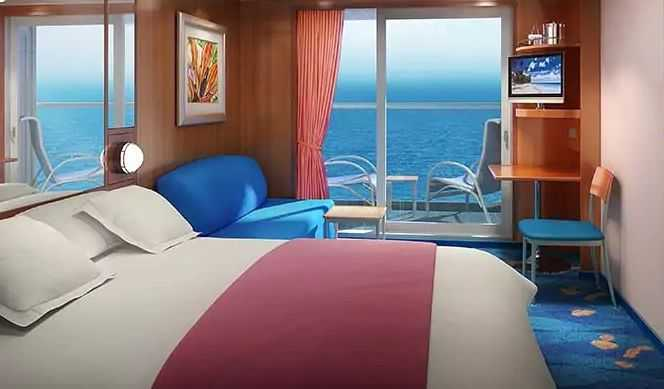 Superficie: 19 m², 2 lits bas convertibles, coin salon, balcon privé, salle de bains avec douche, sèche-cheveux téléphone, TV, climatisation.