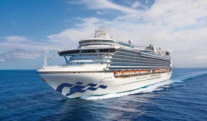 Îles Britanniques au départ du Havre avec Princess Cruises
