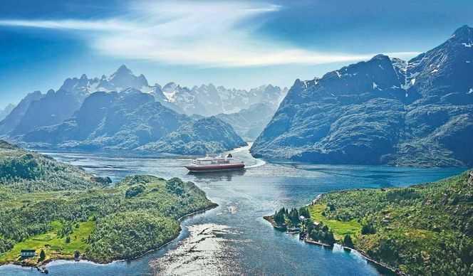 Voyage Classique : Bergen - Kirkenes - Bergen 2019-2020 avec Hurtigruten