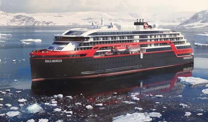 Croisiere MS Roal Amundsen Hurtigruten