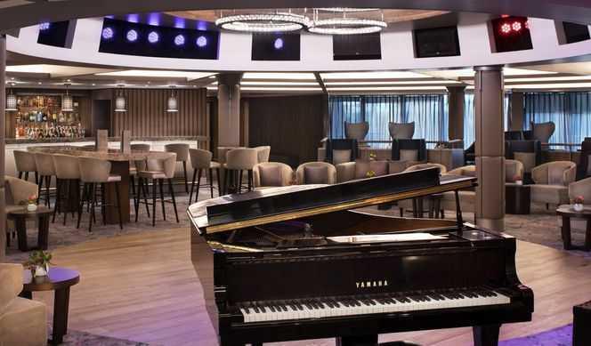Celebrity Summit Piano Bar