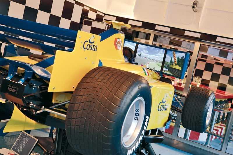 Simulateur F1, Laser game...