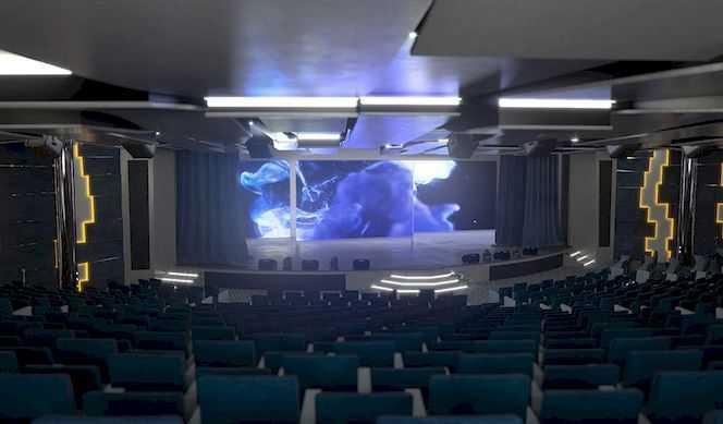 Théâtre, Des pistes de bowling, Comedy Club, Casino...
