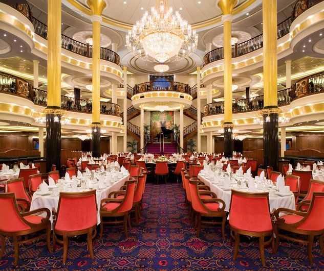 Restaurant principal, Buffet, 6 Restaurants de spécialités (parfois avec suppléments), 6 Bars , Glacier...