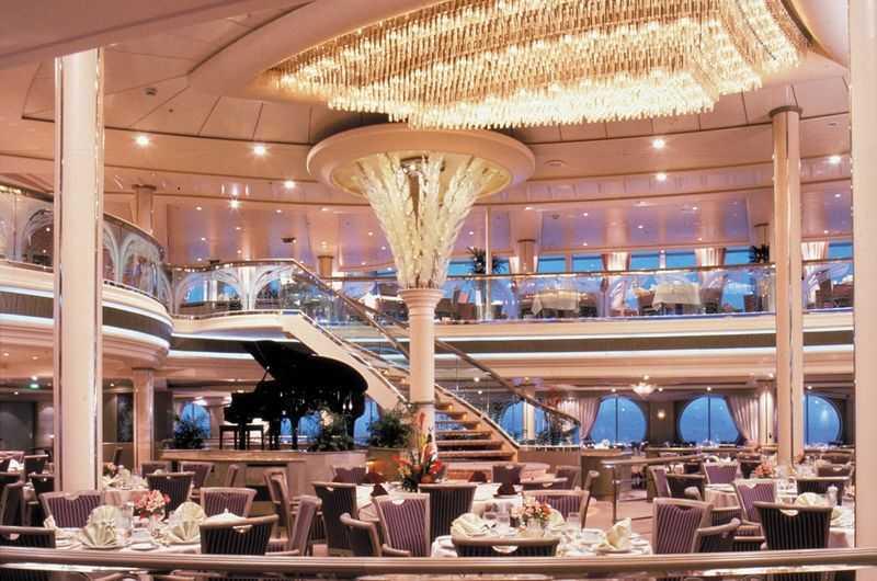 Restaurant principal, Buffet, 11 Restaurants de spécialités (parfois avec suppléments), 8 Bars, Glacier...