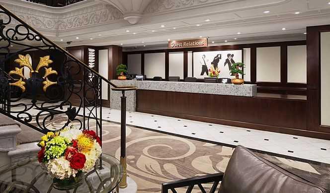 Réception, Boutiques, Conciergerie, Wi-Fi avec supplément...