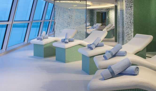 Solarium, Massage, Réflexologie, Acupuncture, Sauna, Hammam, Salle de fitness, Coach personnel, Blanchissement des dents, Salon de beauté, Coiffeur...