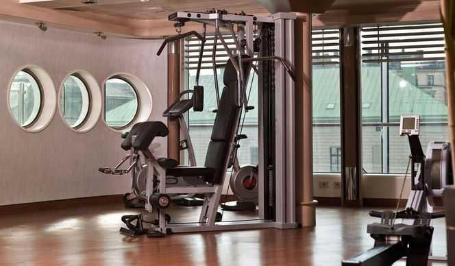 Sauna,  Salle de fitness...