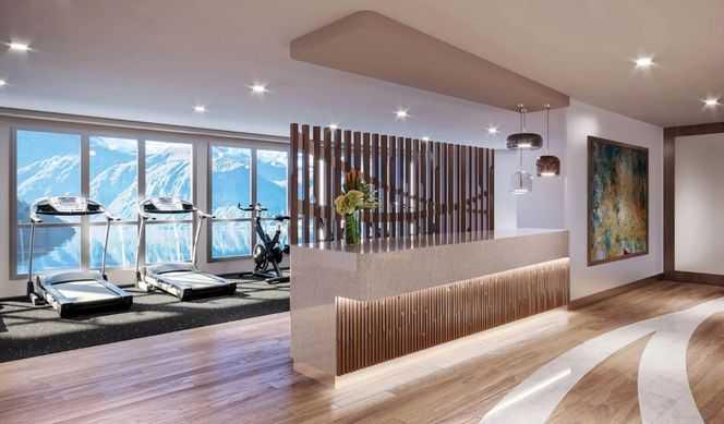 Piscine Extérieure chauffée, 2 bains bouillonnants, Sauna panoramique, Salle de fitness, Centre scientifique, Pont d'observation...