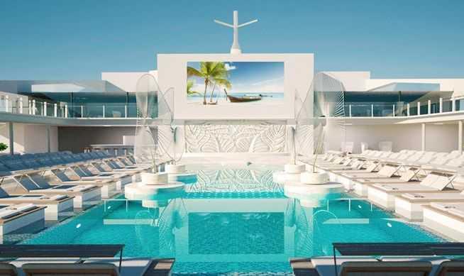 5 Piscines, Aquapark, Sportplex, Des pistes de bowling, MSC Gym by Technogym®...