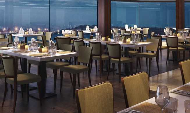 12 restaurants différents :  Les restaurants principaux, Restaurant Eataly Marché & Bistrot, Restaurant Steakhouse, Restaurant teppanyaki & le sushi bar, Buffet de qualité ;  20 bars et lounges innovants...