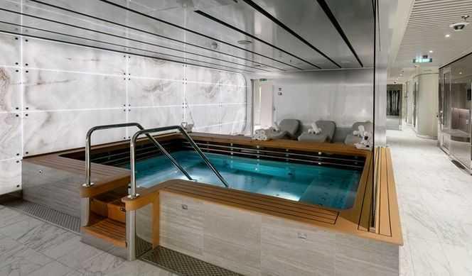 MSC Aurea Spa, Spa balinais, Espace thermal, Bains à remous, Salon de beauté...