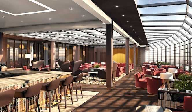 Restaurant principal et de nombreux restaurants à thème, Buffet de qualité, De nombreux bars...